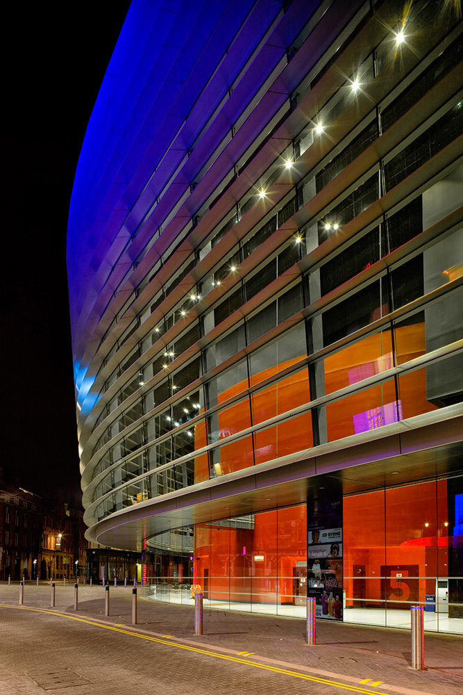 Curve theater in Leicester