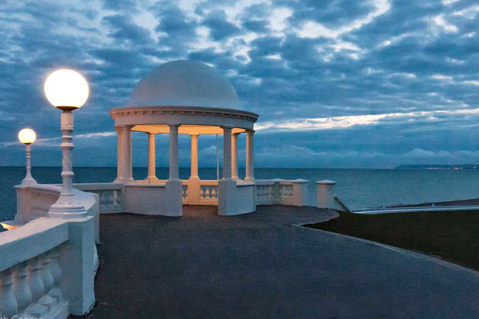 The Colonnade, Bexhill on Sea - dusk