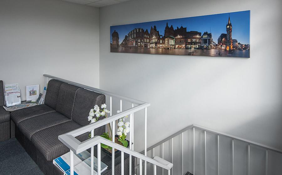 11 foot long wall print