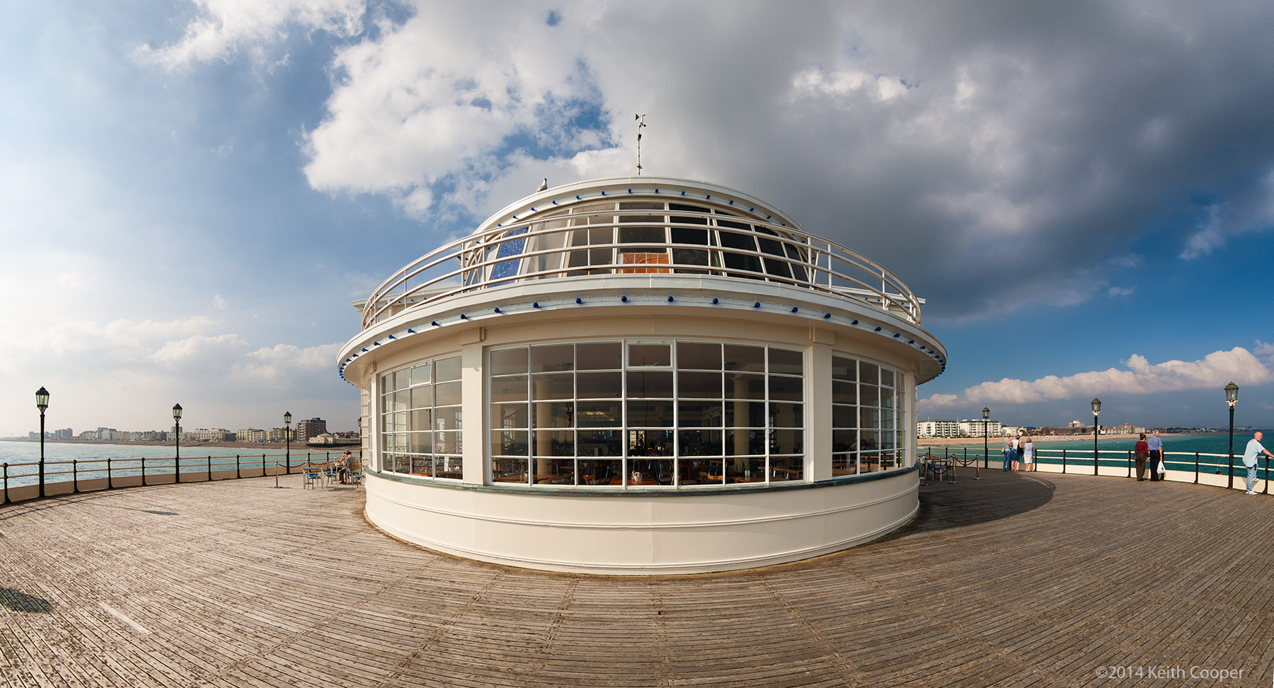 Restaurant at the end of the pier, Worthing