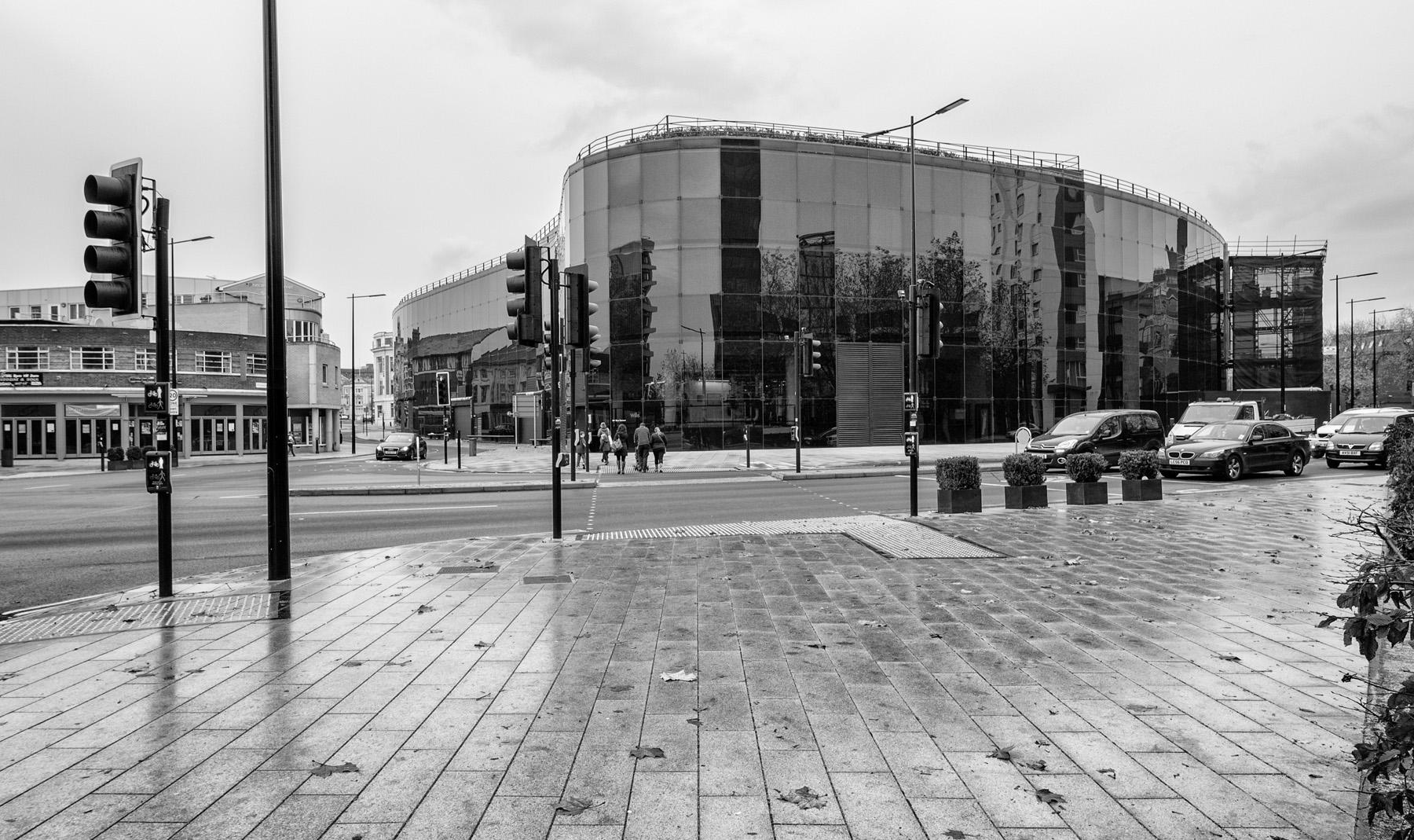 Willis building in Ipswich, 2014 road layout