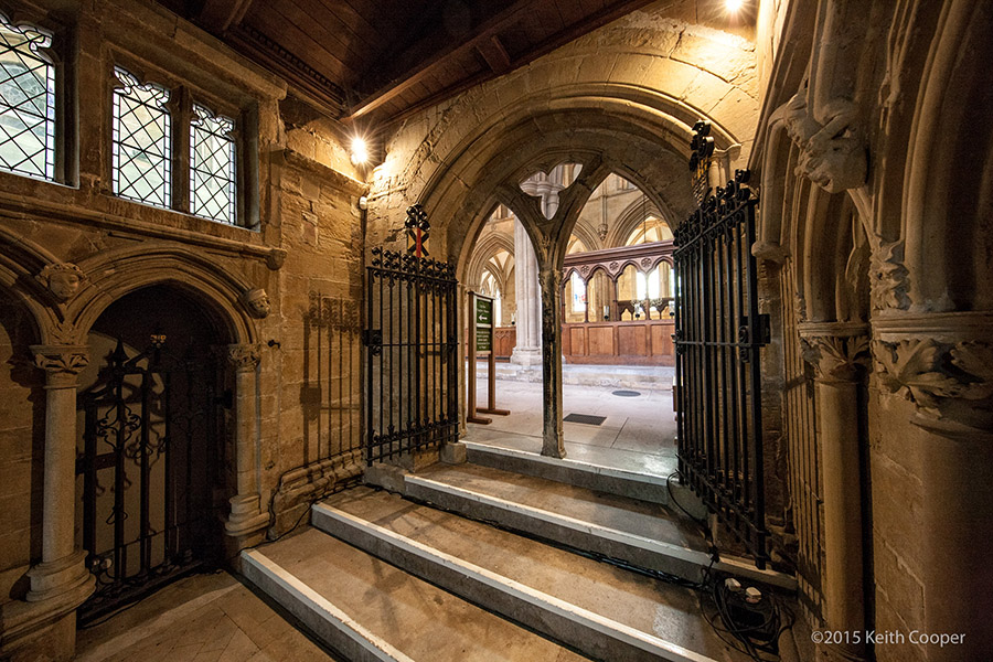 Southwell minster doorway to chapter house